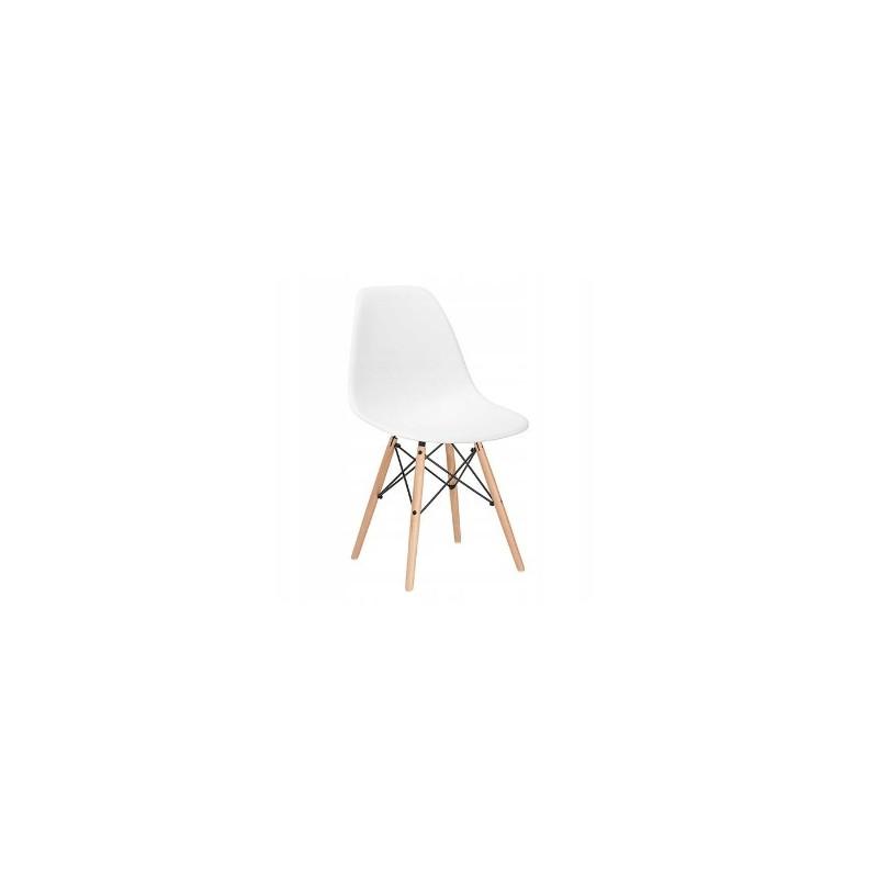 Krzesło dsw milano białe skandynawskie modern…